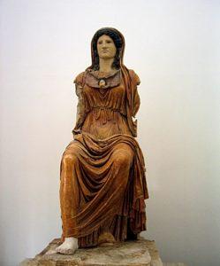Römische Göttin Minerva