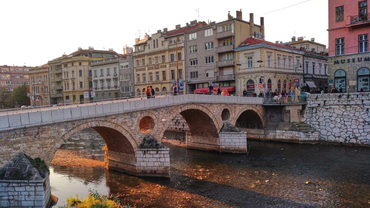 Brücken bauen - Sarajevo - #darumfrieden
