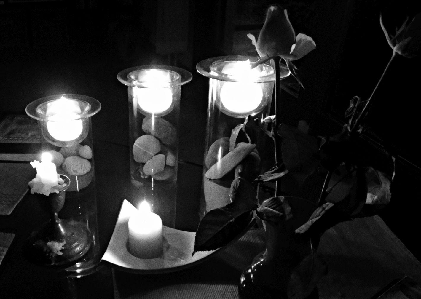 Blackout - Stromausfall Berlin: Kerzen