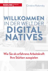 """Buchcover """"Willkommen in der Welt der Digital Natives"""""""
