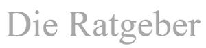 Logo Die Ratgeber