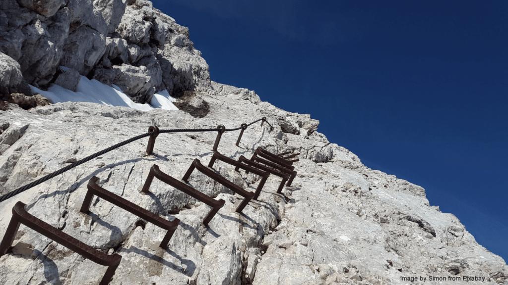 Kletterhilfe gegen Kontrollverlust